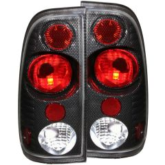 FORD F-150/250 97-03 LIGHTDUTY / F-250/F-350 SUPERDUTY 99-07 TAIL LIGHTS CARBON G2