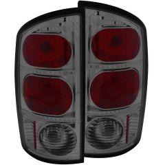 DODGE RAM 1500 02-05 / 2500/3500 03-06 TAIL LIGHTS SMOKE