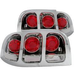 FORD MUSTANG 94-98 TAIL LIGHTS CHROME