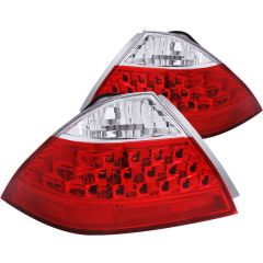 HONDA ACCORD 06-07 4DR TAIL LIGHTS RED/CLEAR