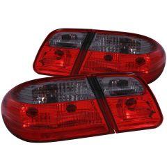 MBZ E CLASS W210 96-02 TAIL LIGHTS G2 RED/SMOKE