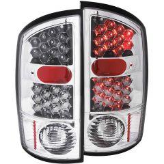 DODGE RAM 1500 02-05 / 2500/3500 03-06 L.E.D TAIL LIGHTS CHROME