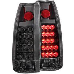 CHEVY/GMC C/K1500/2500 88-98 / C/K3500 88-00 / SUBURBAN 92-99 / BLAZER (full-size) 92-94 / TAHOE 95-99 / YUKON 92-99 L.E.D TAIL LIGHTS BLACK