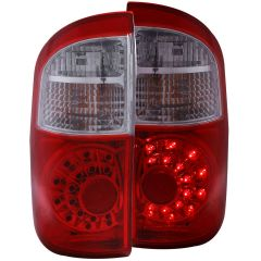 TOYOTA TUNDRA 00-06 L.E.D TAIL LIGHTS RED/CLEAR