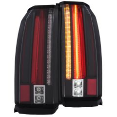 GMC YUKON / XL / DENALI 15-19 L.E.D TAIL LIGHTS BLACK