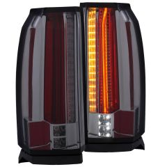 GMC YUKON/ XL / DENALI 15-19 L.E.D TAIL LIGHTS SMOKE