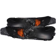 FORD MUSTANG 05-09 PARKING/SIGNAL LIGHTS BLACK AMBER