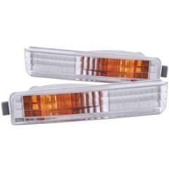 HONDA ACCORD 90-91 PARKING/SIGNAL LIGHTS CHROME CLEAR