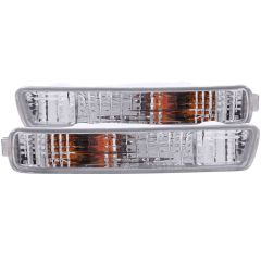 HONDA ACCORD 94-95 PARKING/SIGNAL LIGHTS CHROME CLEAR
