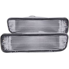 TOYOTA TACOMA 95-97 PARKING/SIGNAL LIGHTS CHROME CLEAR