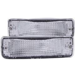 TOYOTA PICKUP 89-95 PARKING/SIGNAL LIGHTS CHROME CLEAR