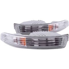 ACURA INTEGRA 94-97 PARKING/SIGNAL LIGHTS CHROME AMBER