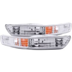 ACURA INTEGRA 98-01 PARKING/SIGNAL LIGHTS CHROME AMBER