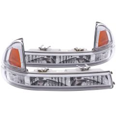 DODGE DAKOTA 97-04 / DURANGO 98-03 PARKING/SIGNAL LIGHTS EURO CHROME AMBER