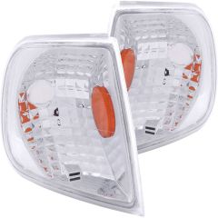 FORD F-150 97-03 / EXPEDITION 97-02 CORNER LIGHTS CHROME EURO AMBER