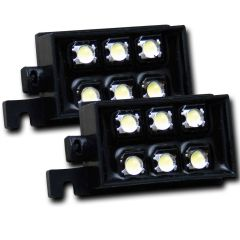 BED RAIL AUXILIARY L.E.D. LIGHTING PODS
