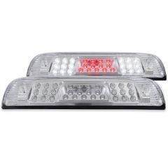 CHEVROLET SILVERADO / GMC SIERRA 1500 14-18 / 2500HD/3500HD 15-19 L.E.D 3RD BRAKE LIGHT CHROME