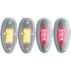 CHEVY SILVERADO / GMC SIERRA 99-13 L.E.D DUALLY FENDER LIGHTS CLEAR