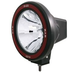 "7"" HID OFF-ROAD LIGHT w/ ANZO REMOVABLE BEZEL"