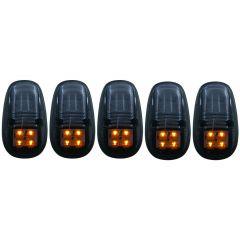 DODGE RAM 2500/3500 99-02 L.E.D CAB LIGHTS SMOKE 5PC