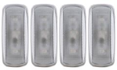 DODGE RAM 10-15 L.E.D DUALLY FENDER LIGHTS CLEAR (2 RED & 2 AMBER 4PCS)