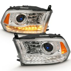 2010 - 2019 DODGE RAM 3500 Projector Headlights (2019 Classic Body Style Only)