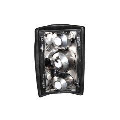 FORD EXCURSION 00-05 / ECONOLINE VAN E150/E250/E350 95-06 TAIL LIGHTS BLACK