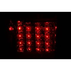 TOYOTA 4 RUNNER 01-02 L.E.D TAIL LIGHTS RED/CLEAR