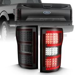 FORD F-150 18-20 LED TAILLIGHT SMOKE (RED LIGHT BAR) (W/ SEQUENTIAL)